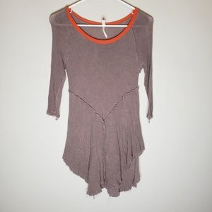 Intimately Free People Long Sleeve Tunic Top
